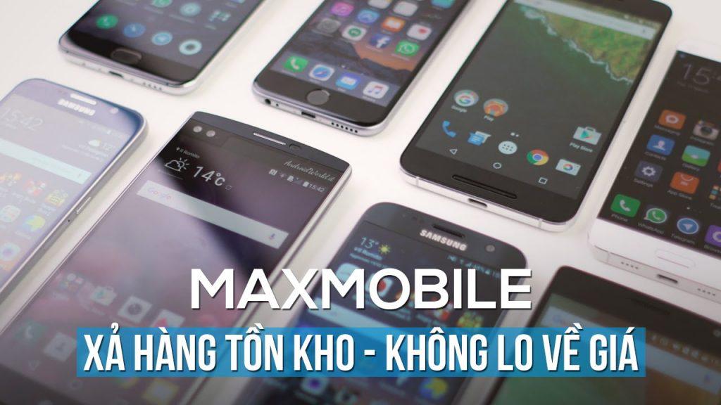Những sản phẩm nổi bật tại Maxmobile