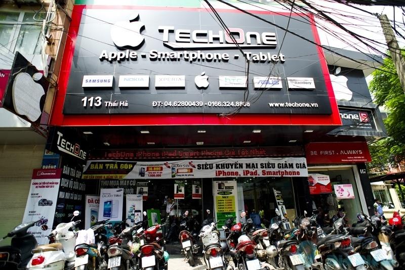 Cửa hàng Techone Thái Hà
