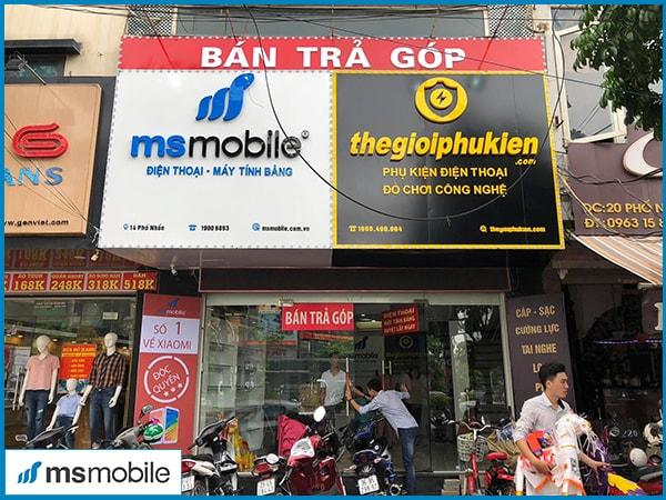 Hình ảnh một cửa hàng Msmobile
