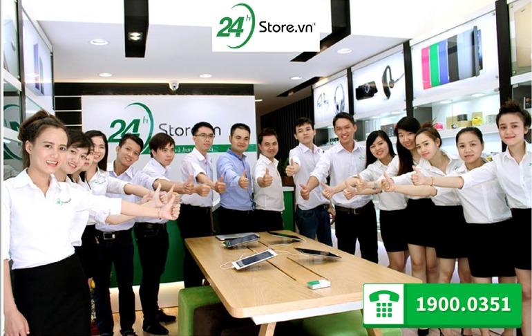 Hình ảnh nhân viên tại 24hstore