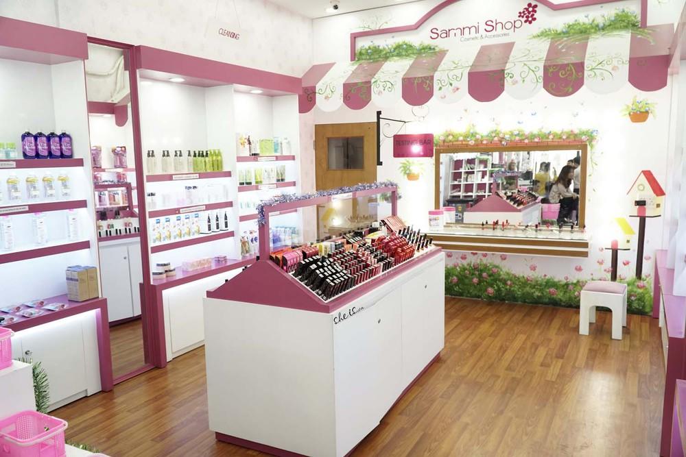 Hình ảnh bên trong cửa hàng Sammi Shop
