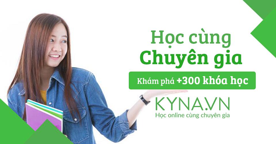 Học cùng chuyên giá Kyna.vn
