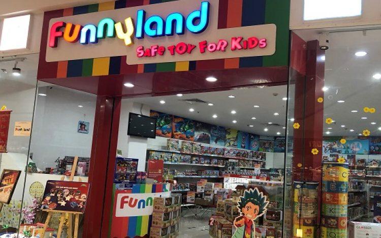 Shop Đồ Chơi Trẻ Em: Funny Land