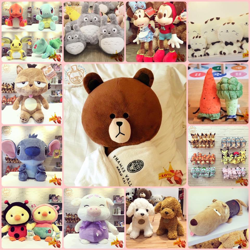 Shop Bán Gấu Bông: Gấu Shop