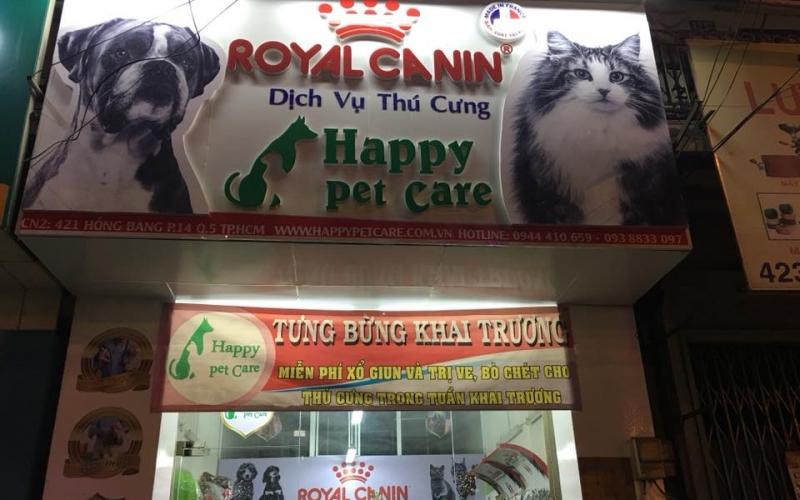 Shop phụ kiện Chó Mèo: Happy Pet Care