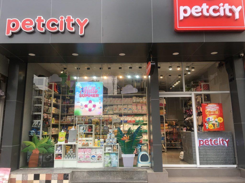 Shop phụ kiện Chó Mèo: Pet city